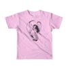 Permission Apparel - Deep Sea Huntress Childs T-Shirt - Black on Pink