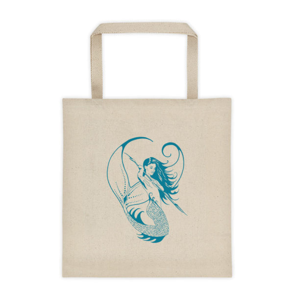 Permission Apparel - Deep Sea Huntress Design - Liberty Tote Bag