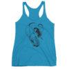 Permission Apparel - Deep Sea Huntress Racerback Tanktop - Vintage Turquoise