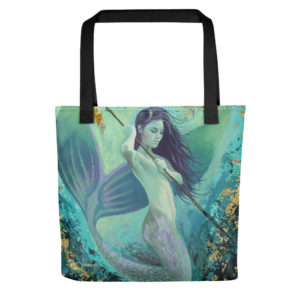 Permission Apparel - Deep Sea Huntress Tote Bag