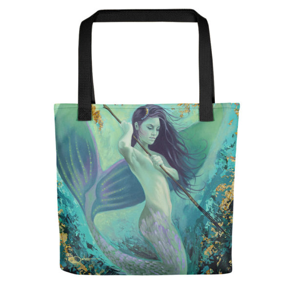 Permission Apparel - Deep Sea Huntress Tote Bag