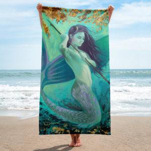 Permission Apparel - Deep Sea Huntress Towel
